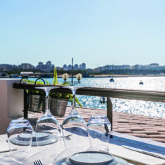 Views to dine for
