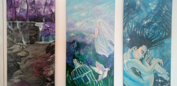 Lagoa's Convent'bio hosts paintings exhibition by Inna Hawker