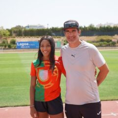 Olympic medallist Patrícia Mamona chooses Lagoa for training camp